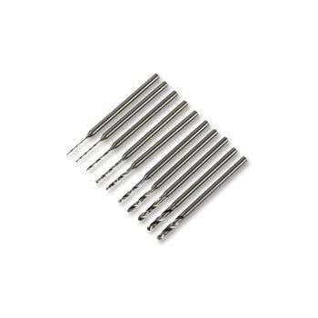 10 Stück 0,8 mm ~ 3,0 mm Micro Mini Hochgeschwindigkeits Stahlbohrer Set