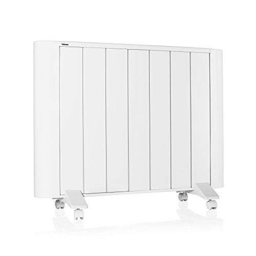 Tristar KA-5134 Elektrische radiator, van aluminium, slank design, 7 ribben, 1500 W, timer