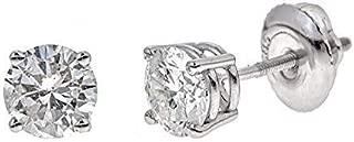Best white flash diamond earrings Reviews
