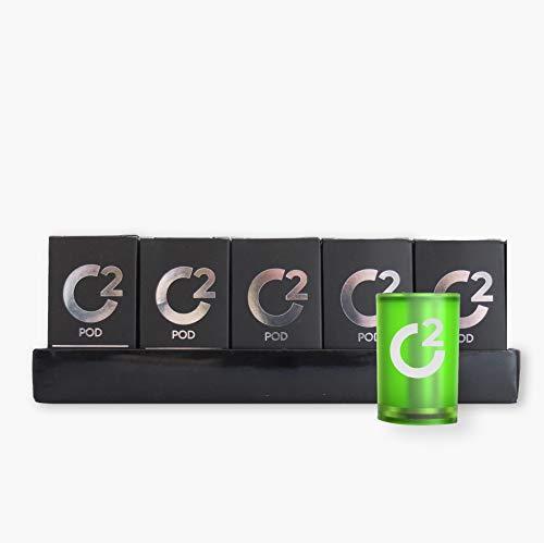 Pack 5 Pods para Cachimba Electrónica Premium – Sin Nicotina, Cápsula para Uso Exclusivo en la Shisha Electrónica Nebu (MELON)