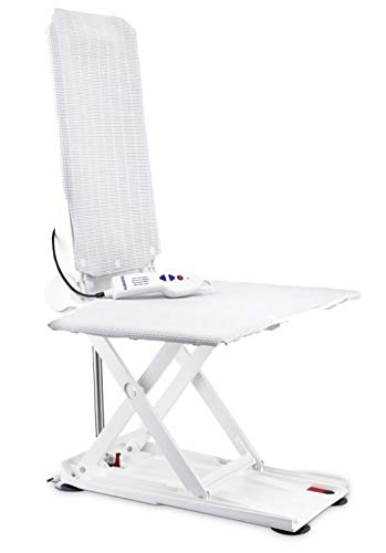 Badewannenlift mit flexibler Rückenlehne Invacare Orca mit Sitzbezug