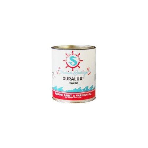 Duralux M720-4 Marine Paint, White Boat Paint, 1 Quart