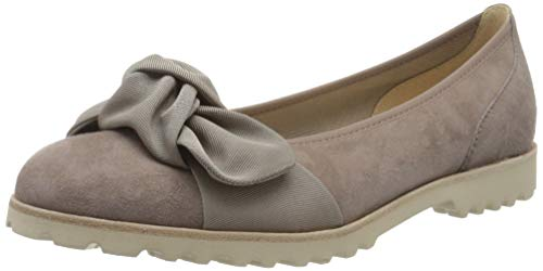 Gabor Shoes Damen Casual Geschlossene Ballerinas, Mehrfarbig (Dark-Nude 14), 40 EU
