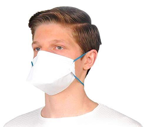 ALCLEAR 10er Set FFP2 antivirale Atemschutzmaske, face mask Partikelfiltrierender Atemschutz, Feinstaubmaske, leichteres Atmen als mit FFP3