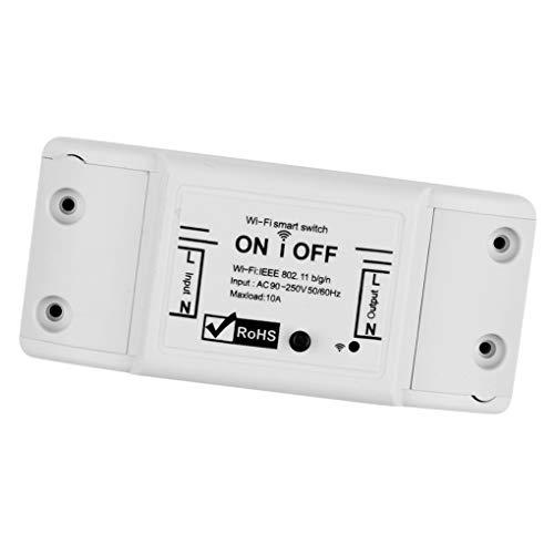 Vokmon Control Remoto Wi-Fi de Encendido/Apagado del Interruptor Principal del Aparato electrodoméstico Controlador de Dispositivo de reemplazo para iOS/Android