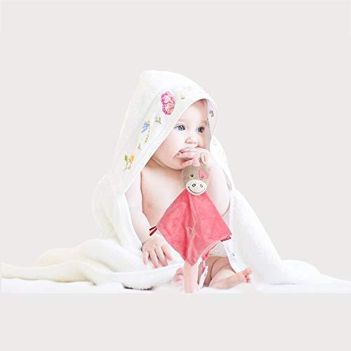 ACHICOO Baby Beruhigen Puppe Schlaf Puppe Baby Plüschtier Zahngel Beschwichtigen Handtuch Elefantfür den Heimgebrauch