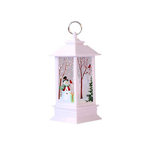 Winbang Dekorative LED-Lampe, Weihnachtslaternen-Lampen-künstliche Flammen-Licht-Hauptdekorationen