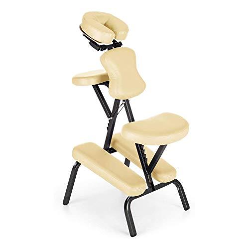 LMCLJJ Styling Salon Chair for Il Relax dei Capelli Pieghevole Massage Chair Tatuaggio Sedia Bellezza Raschiare Portable Salute Massaggi Stylist Antico Barber Chair di Bellezza