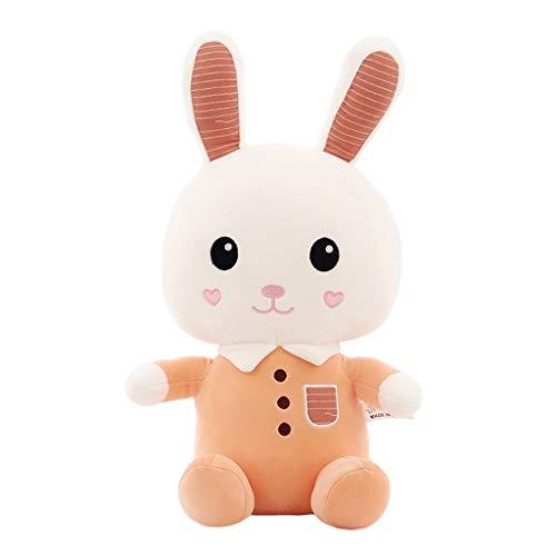 Gaorb Juguetes de Peluche, muñeca Linda del Conejito, Lindo pequeño Conejo Blanco de Almohadas for Dormir, Regalos for niñas y niños, Regalos de cumpleaños, decoración casera Linda