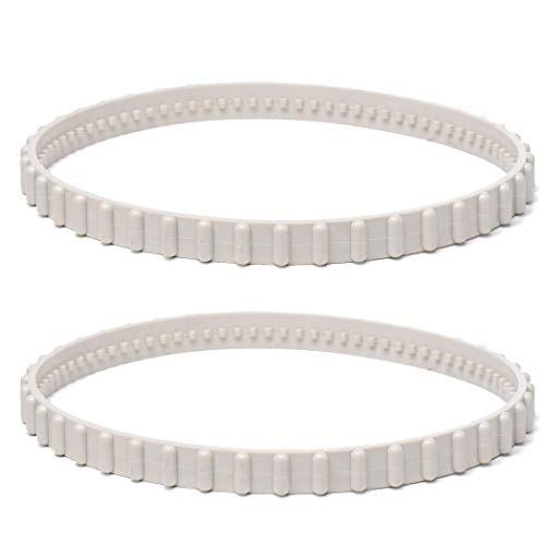 AR-PRO (2 Pack) RCX23002 Replacement Soft Tread Drive Belt - Premium, Heavy-Duty Rubber Pool Cleaner Parts | Compatible with Aquavac Tiger Shark (Plus and QC) and SharkVac Pool Cleaners