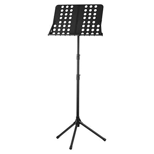 NotenständerNotenständer 84cm-160cm Höhenverstellbar Faltbar TragbarTragbarMetallLeichtgewicht