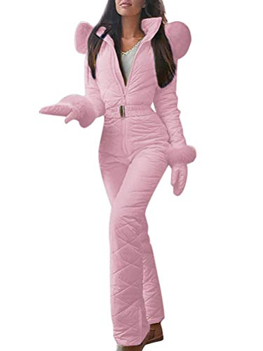 Skioverall in Rosa