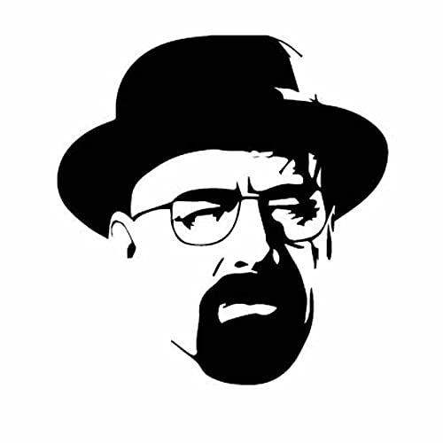 Clásico crimen TV Drama Breaking Walter Bad Chemistry Heisenberg vinilo pegatina de pared calcomanía para coche chico ventiladores dormitorio oficina estudio decoración del hogar Mural