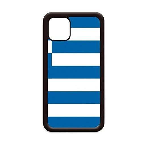 Carcasa para Apple iPhone 11 Pro Max, diseño de bandera de Grecia