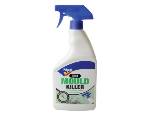 Polycell 3-in-1 Mould Killer Spray, 500 ml
