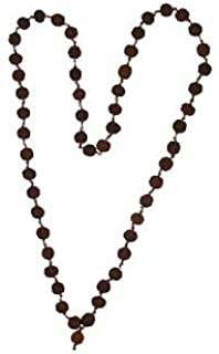 Lakshmi Puja Stores Copper Rudraksha Mala 54 Beads For Men And Women