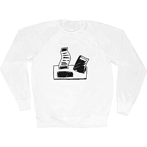 Azeeda Klein \'Papierrechnungen\' Unisex Sweatshirt / Pullover (SW00024793)