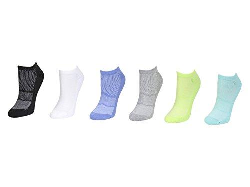 6- Pack Women's Ultra low cut Triple-Mesh Liner Socks -  Polo Ralph Lauren, 047852218740