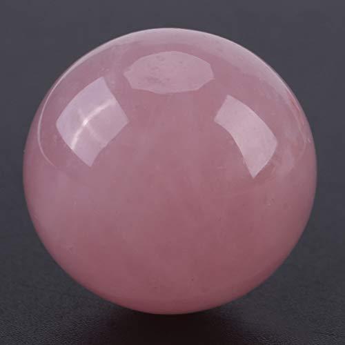 Cristal rose, pierre de cristal naturel, forme ronde Mini taille faisant des bijoux pour décor à la maison Fish Tank Decor