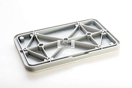 EVH-XTRA® Wartungsklappe für Wärmetauscher Klappe für Trockner Marken Bosch Siemens wie 646776 (mit 6 Schrauben)
