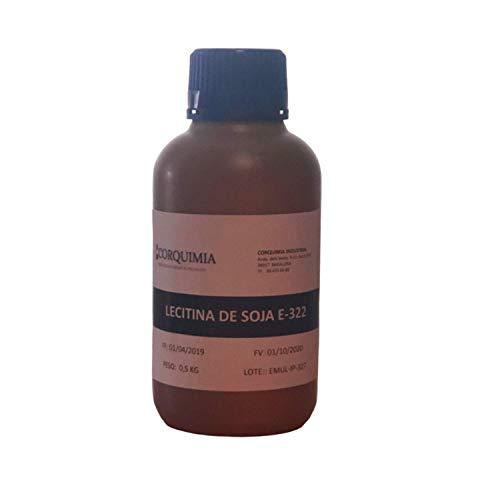 LECITINA DE SOJA LIQUIDA E-322 | 100% LIBRE DE GMO (0,5 KG)