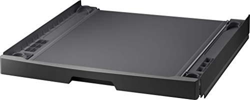 Samsung SKK-UDX - Juego de accesorios originales de Samsung para conectar cómodamente la lavadora y la secadora (bandeja extensible hasta 15 kg)