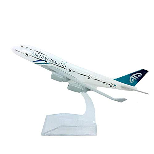 XHH Airplane Model 1: 400 Scale Boeing B747-400 Model Air Airlines Airbus Models Toy Metal Alloy Airplane Airplane Airliner Display