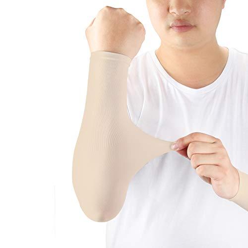 ioutdoor Arm Sleeves Kühlung UPF 50+, Kompressions Tattoo Cover Armstulpen, Elastische, Atmungsaktiv, Anti-Rutsch, Kein Verblassen, Pillingresistent, Unisex-Ärmlinge
