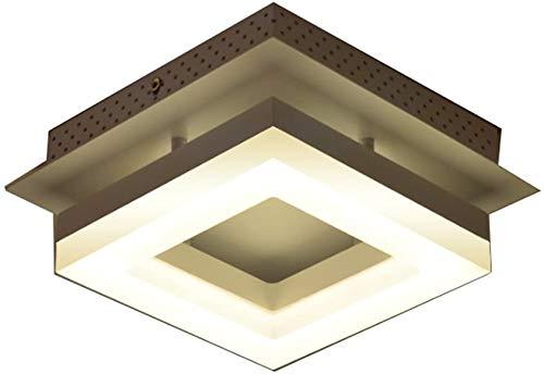 YANQING Duurzame LED Acryl Plafond Licht voor Keuken Licht, Badkamer Licht, Witte Wandlamp, Vierkante Kroonluchter Plafond Lamp Plafond Lampen