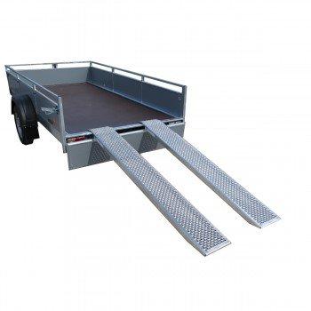 Set ALU Verladeschienen / Auffahrschienen 2000 x 260mm 1000kg/Paar