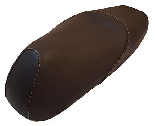 Funda de sillín específica a medida, fabricada en Italia, para scooter Honda SH 125 150 y 250 del 2005 al 2008, protege y repara el sillín original, resistente a los agentes externos, costuras reflectantes de alta visibilidad.