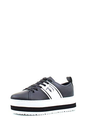 Trussardi Donna Sneaker con Logo Nero MOD. 79A00438 38