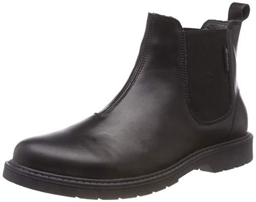 Naturino Jungen Piccadilly Chelsea Boots, Schwarz (Nero 0a01), 30 EU