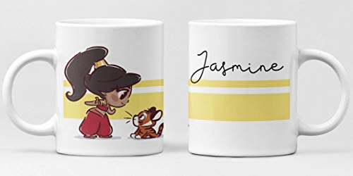 Desconocido Taza Jasmine Aladdin Simple. Princesa Disney