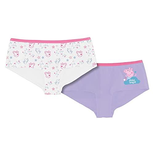 United Labels Peppa Pig Mädchen Panty 2er Pack, Kinder Unterhose Unterwäsche (98-104)