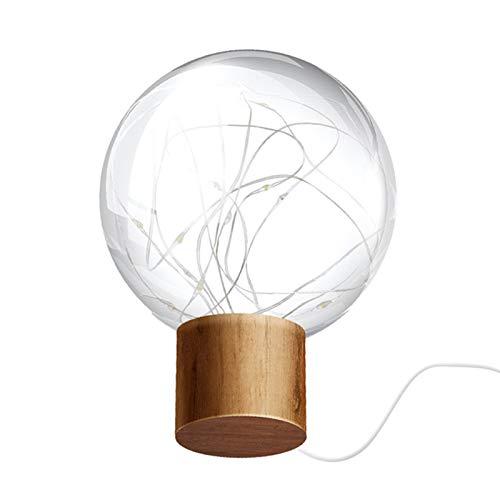 XINGX Night Light for Kids, LED Globe Rattan Ball Lamp,Star Night Light Moon USB Charging Bedside Round Ball Log New Product Creative Led Atmosphere Light