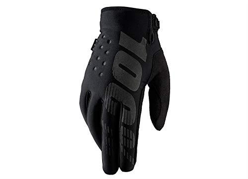 100% Erwachsene Brisker Handschuhe, Schwarz, S