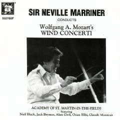 Sir Neville Marriner Conducts Wolfgang A. Mozart's Wind Concerti K 299 313 315 622 314 386b 495 447 417 (3 CD Box Set) (MHS)