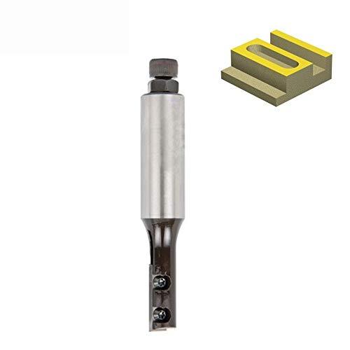 X-BAOFU, 1pc CNC desechable Insertar Directo Router Cortador con 1 Flauta y el Centro de sugerencias for el rebajo, ranurado y dimensionamiento PDF Maderas (Color : D16x30 105mm, tamaño : 20mm Shank)