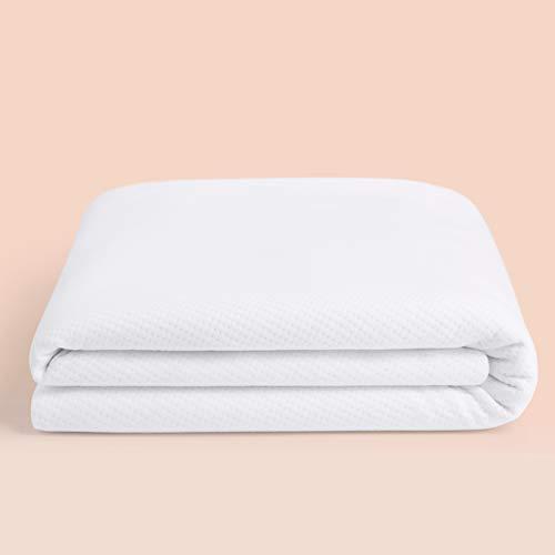 Casper Sleep Waterproof Mattress Protector, King, White