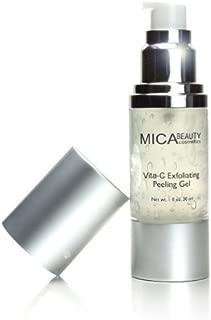 Mica Beauty Vita-c Exfoliating Peeling GEL Provides Gentle Exfoliation
