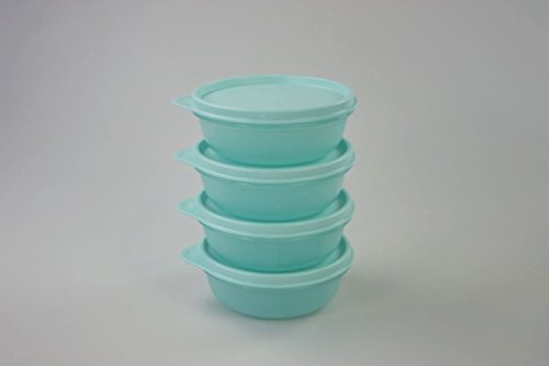 TUPPERWARE Astral 300ml turquesa brillante caja (4) 14196
