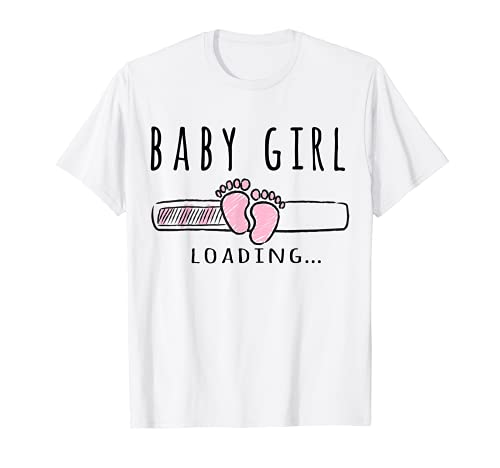Conjunto De Niña Embarazada Para Mamá Embarazada Camiseta