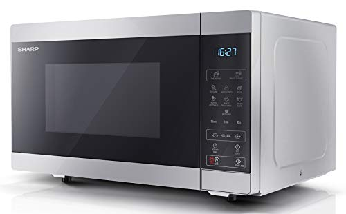 Sharp YC-MS51U-S 900 W Digital Solo Microwave Oven with 25 Litre Capacity,...