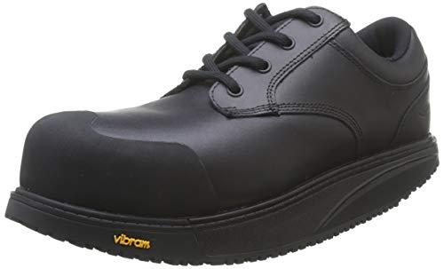 MBT Omega Work Shoe, Unisex Erwachsene Schutzschuhe, Schwarz - Schwarz - Größe: 37 EU