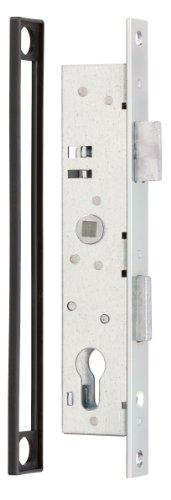 GAH-Alberts 413057 Rohrrahmenschloss | verzinkt | Dornmaß 25 mm | Höhe 197mm | Breite 38mm