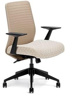 Highmark HB 7107K-S2-A40 Knit-Back Swivel Tilt Chair Seat Port Back Tan