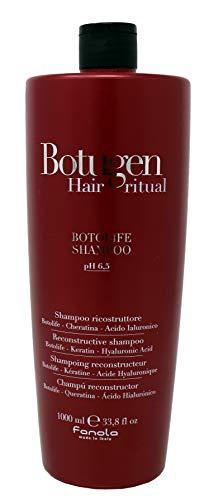 Reconstructive Shampoo 1000ml Botolife Keratin Hyaluronic Acid Botugen ® Fanola pH 6,5 Ricostruttore con Cheratina e Acido Ialuronico