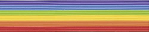 Knorr Prandell 218306065 Knorr prandell 218306065 Wachsstreifen Sortiment 200 mm Ø 2 m, regenbogen