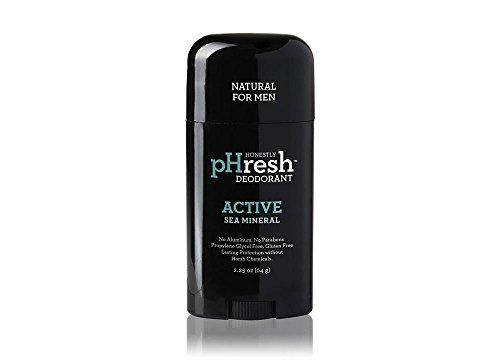 HONESTLY PHRESH Sea Mineral Stick Deodorant Men, 0.02 Pound
